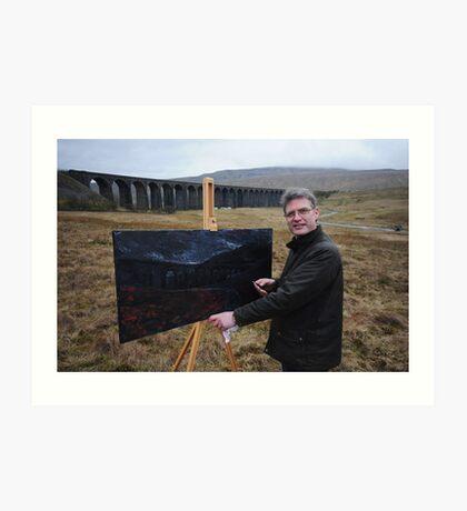 On Location (1) - Ribblehead Viaduct Art Print
