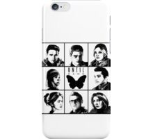 Until dawn - main characters iPhone Case/Skin