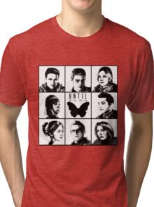 Until dawn - main characters Tri-blend T-Shirt