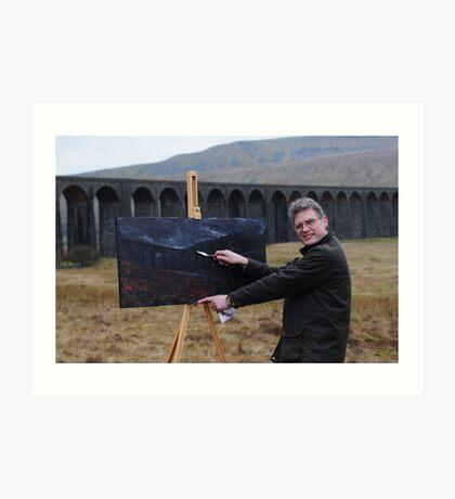 On Location (2) - Ribblehead Viaduct Art Print