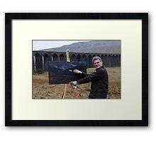 On Location (2) - Ribblehead Viaduct Framed Print