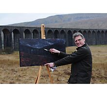 On Location (2) - Ribblehead Viaduct Photographic Print