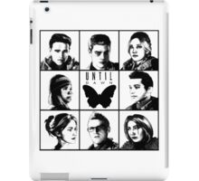 Until dawn - main characters iPad Case/Skin