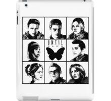 Until dawn - main characters iPad Case/Skin