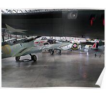 Spitfire V Hispano HA1112 Poster