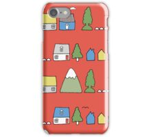 Home in the mountains iPhone Case/Skin