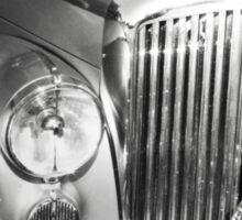 Classic motor - silver dream machine Sticker