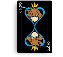 The King of Hearts Canvas Print