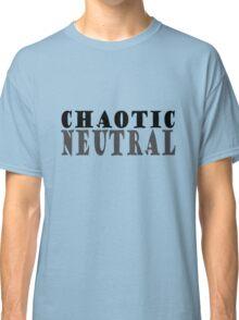 Chaotic neutral geek geek funny nerd Classic T-Shirt