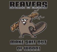 BEAVERS!!! by scott sirag