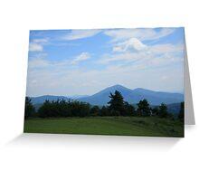 Blue Ridge Mountains - Virginia Greeting Card