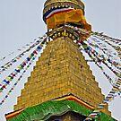 Boudhnath Stupa by Konstantinos Arvanitopoulos