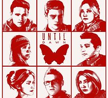 until dawn characters - red by athelstan