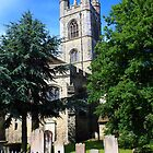 St Marys Church, Ashford, Kent by Liz Garnett