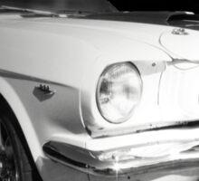 Vintage car - cool racer Sticker