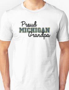Proud Michigan Grandpa Unisex T-Shirt