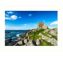 Carrickabrahy Castle Art Print
