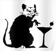 Banksy - V.i.p. Rat Poster