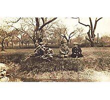 Childhood, Idyll, Idle, Turtles, Too Photographic Print
