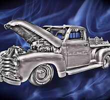 classic chevy truck by Bill Manocchio