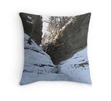 LaSalle Canyon  Throw Pillow
