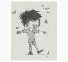 Emo Kid Loves You Kids Tee