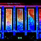 Enlighten Festival - Natioal Library of Australia by Melanie Roberts
