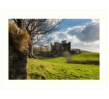 Clifden Castle Art Print
