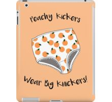 Peachy Kickers Wear Big Knickers! iPad Case/Skin