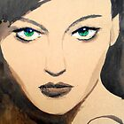 green eyed girl by Loui  Jover