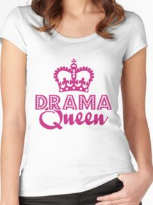 Drama Queen Women's Fitted Scoop T-Shirt