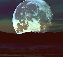 'Super Moon'  by RoseMarie747