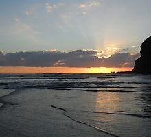 Amazing Sunset by chrissy mitchell