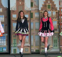 Irish dancers by Janette Anderson