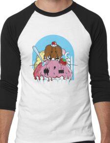 Mt. Icecream Men's Baseball ¾ T-Shirt