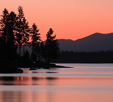 Lake Almanor Twilight by James Eddy