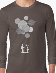 Between planets and balloons. Long Sleeve T-Shirt