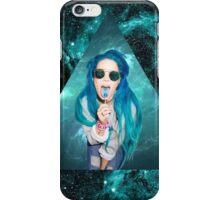 Halsey blue turquoise space Ashley Frangipane  iPhone Case/Skin
