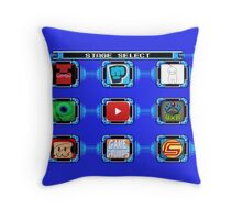 Select your video Throw Pillow
