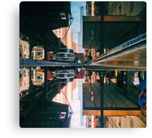 Wicked Flip Reflection in the Loop Canvas Print