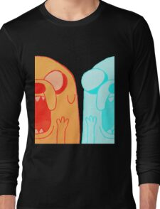 Jake's Nightmare in 3D Long Sleeve T-Shirt