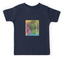 Abstract mono print Kids Tee