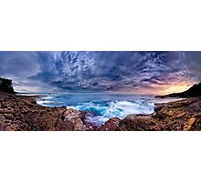 Dawn Spectrum (Borderless) - Sunrise @ Bannister Point, Mollymook Photographic Print