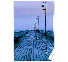rain pier Poster