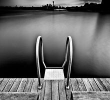 Pyrmont Pond (Borderless) by Richard Lam