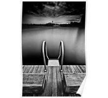 Pyrmont Pond (Borderless) Poster