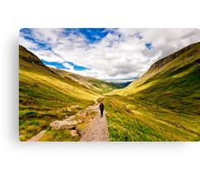 Helvellyn Trail (Borderless) Canvas Print