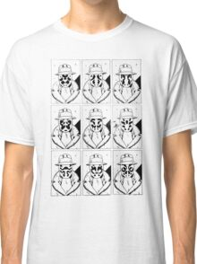 The many faces of Rorschach Classic T-Shirt