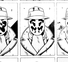 The many faces of Rorschach Sticker