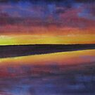 Kimberley Sunset 2 by Tash  Luedi Art